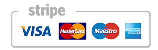 accepting stripe, visa, master card and all major credit cards for payment